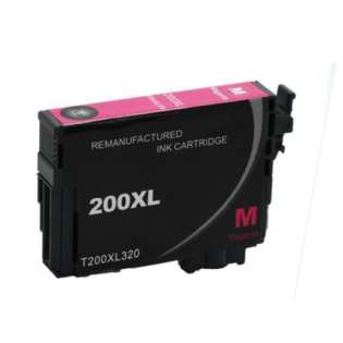 Remanufactured Epson T200XL320 / 200XL cartridge - high capacity pigmented magenta
