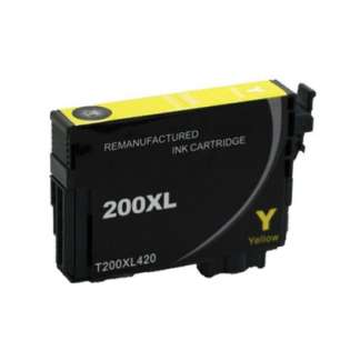 Remanufactured Epson T200XL420 / 200XL cartridge - high capacity pigmented yellow