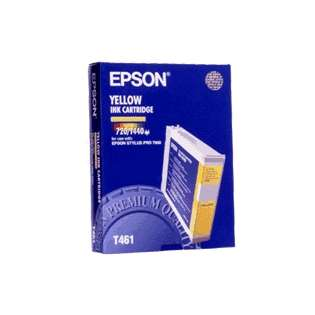 Epson T461011 Genuine Original (OEM) ink cartridge, yellow