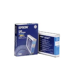 Epson T463011 Genuine Original (OEM) ink cartridge, cyan