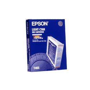 Epson T465011 Genuine Original (OEM) ink cartridge, light cyan