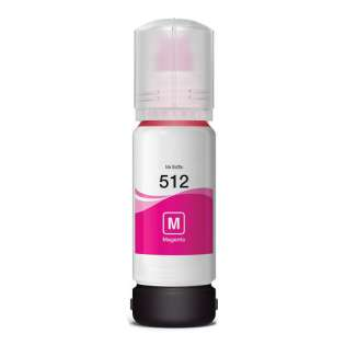 Compatible ink bottle for Epson T512320 (512) - magenta