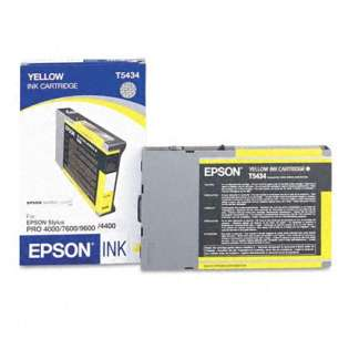 Epson T543400 Genuine Original (OEM) ink cartridge, yellow
