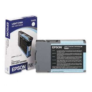 Epson T543500 Genuine Original (OEM) ink cartridge, light cyan