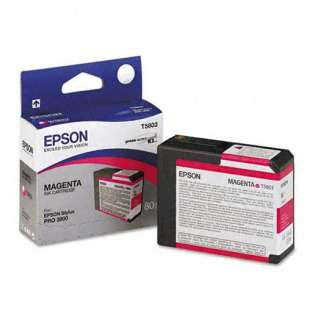 Epson T580300 Genuine Original (OEM) ink cartridge, magenta