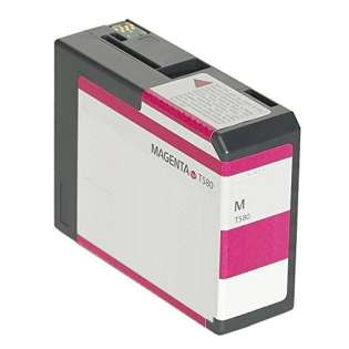 Remanufactured Epson T580A00 print ink cartridge - vivid magenta