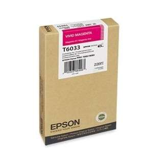 Epson T603300 Genuine Original (OEM) ink cartridge, vivid magenta