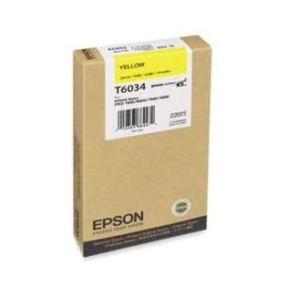 Epson T603400 Genuine Original (OEM) ink cartridge, yellow