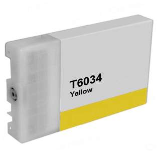 Remanufactured Epson T603400 ink cartridge, yellow
