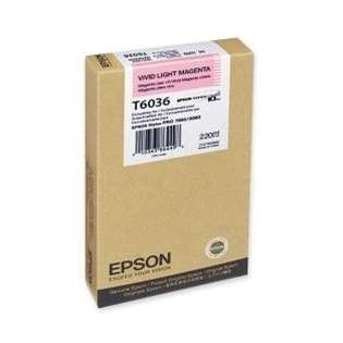 Epson T603600 Genuine Original (OEM) ink cartridge, vivid light magenta
