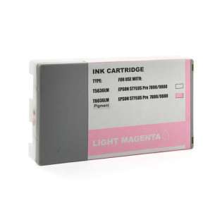 Remanufactured Epson T603600 ink cartridge, vivid light magenta