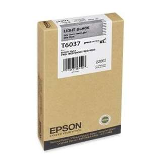 Epson T603700 Genuine Original (OEM) ink cartridge, light black