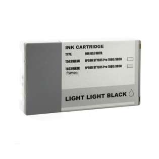 Remanufactured Epson T603900 ink cartridge, light light black