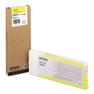 OEM Epson T606400 cartridge - yellow