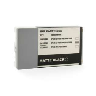 Remanufactured Epson T612800 ink cartridge, matte black