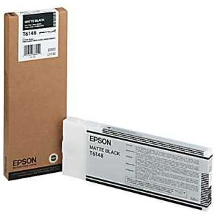 Epson T614800 Genuine Original (OEM) ink cartridge, matte black