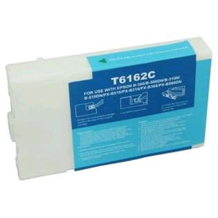 Remanufactured Epson T616200 ink cartridge, cyan