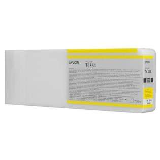 Epson T636400 Genuine Original (OEM) ink cartridge, yellow