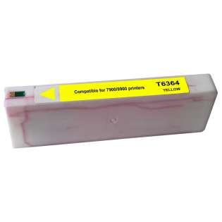 Remanufactured Epson T636400 ink cartridge, yellow