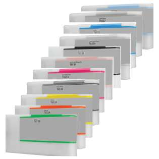 Remanufactured Multipack for Epson T653 cartridges - 11 pack