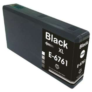 Remanufactured Epson 676XL, T676XL120 ink cartridge, high capacity yield, black