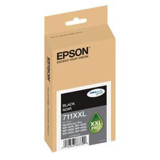 Epson 711XXL, T711XXL120 Genuine Original (OEM) ink cartridge, extra high capacity yield, black