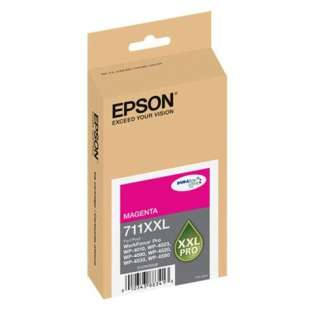 Epson 711XXL, T711XXL320 Genuine Original (OEM) ink cartridge, extra high capacity yield, magenta