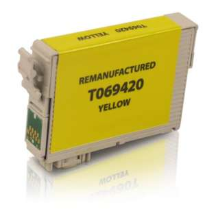 Remanufactured Epson T069420 / 69 cartridge - yellow