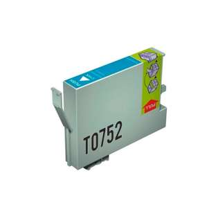 Remanufactured Epson T0752 cartridge - cyan