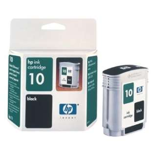 HP 10, C4844A Genuine Original (OEM) ink cartridge, black