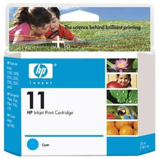 HP 11, C4836A Genuine Original (OEM) ink cartridge, cyan