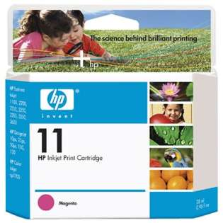 HP 11, C4837A Genuine Original (OEM) ink cartridge, magenta