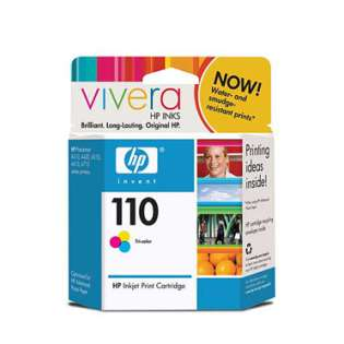 HP 110, CB304AN Genuine Original (OEM) ink cartridge, tri-color