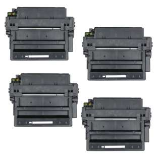 Compatible HP Q6511X (11X) toner cartridges - Pack of 4