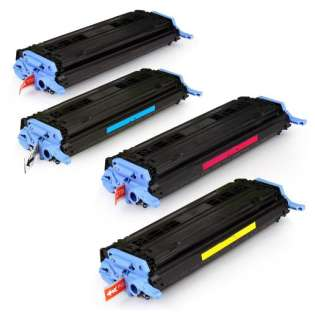 Compatible HP 124A toner cartridges - Pack of 4