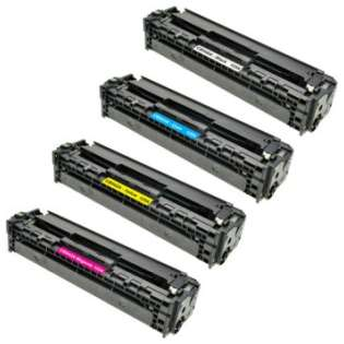 Compatible HP 125A toner cartridges - (pack of 4)