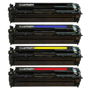 Compatible HP 128A toner cartridges - Pack of 4