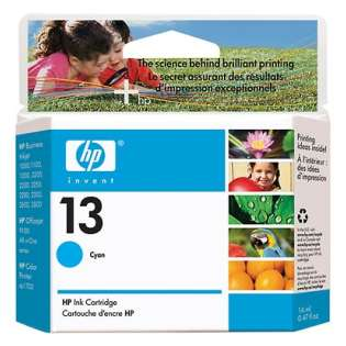 HP 13, C4815A Genuine Original (OEM) ink cartridge, cyan