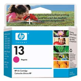 HP 13, C4816A Genuine Original (OEM) ink cartridge, magenta
