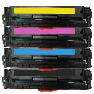 Compatible HP 131A, CF210A, CF211A, CF212A, CF213A toner cartridges (pack of 4)