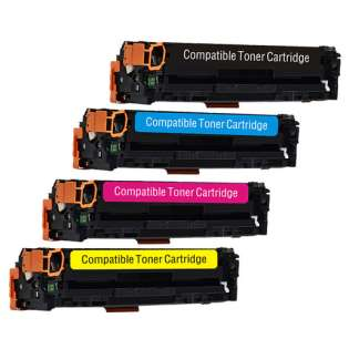 Compatible HP 131X / 131A toner cartridges - Pack of 4