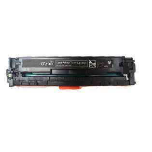 Compatible HP 131X Black, CF210X toner cartridge, 2400 pages, high capacity yield, black