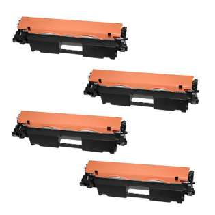 Compatible HP CF218A (18A) toner cartridges - Pack of 4