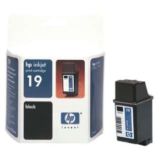 HP 19, C6628A Genuine Original (OEM) ink cartridge, black