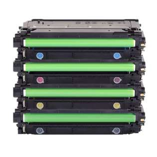 Compatible HP 206A toner cartridges - WITHOUT CHIP - 4-pack