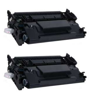 Compatible HP CF226X (26X) toner cartridge - (pack of 2)