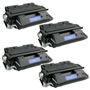 Compatible HP C4127X (27X) toner cartridges - Pack of 4