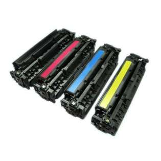 Compatible HP 312A, CF380A, CF381A, CF383A, CF382A toner cartridges (pack of 4)