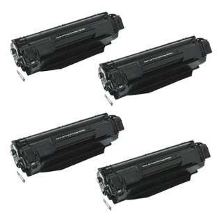 HP CB436A (36A) Toner Cartridges - Pack of 4