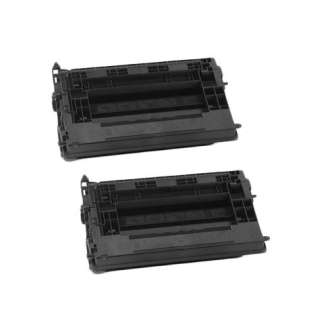 Compatible HP CF237X (37X) toner cartridges - 2-pack